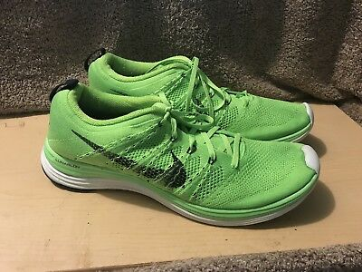 best sneakers 8ac86 7bb18 Nike Flyknit Lunar One + Mens Size 10.5 Athletic Running Shoes