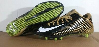 59a911a80f81c Black And Gold Nike Vapor Carbon Cleats
