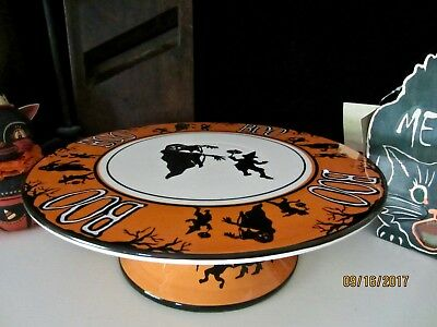 Bethany Lowe Vintage Style Halloween Pedestal Cake Plate Stand Party Decoration & BETHANY LOWE VINTAGE Style Halloween Pedestal Cake Plate Stand Party ...