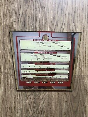 Replica Russian Soviet USSR Antique Vintage Zvezda 54 Tube Radio mirror Dial