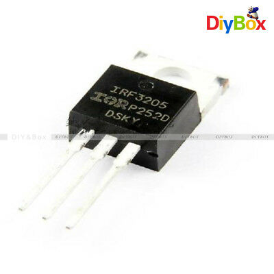 50pcs IRF3205PBF  IRF3205 MOSFET N-CH 55V 110A TO-220 NEW HIGH QUALITY