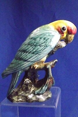 VINTAGE Stangl Bird Caliofonia Parakee # 3449 Artist C C F Mint Signed