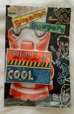 1994 Burger King Kids' Club Sneaker Bumper Stickers NIP