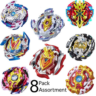 Wholesale Lot Pack of 8 Assorted Burst Beyblades Xeno Spriggan Nightmare Set