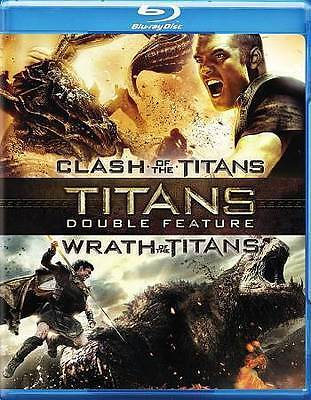 Clash Of The Titans (2010) / Wrath Of The Titans Blu-ray NEW