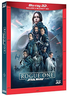 Rogue One:A Star Wars Story ( 3D+Br+Bonus Disc)  BLU-RAY NUO (Importazione USA)