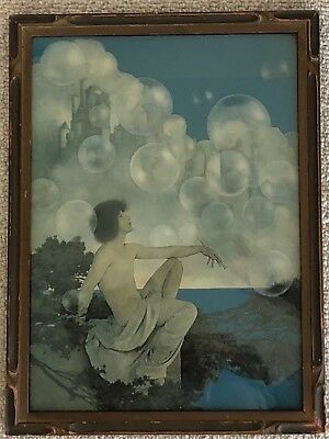 1904 Maxfield Parrish Print From Keats To Autumn Vintage 2 Print Set Nm Advertising Merchandise & Memorabilia