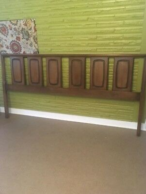 King Broyhill Emphasis Mid Century Headboard