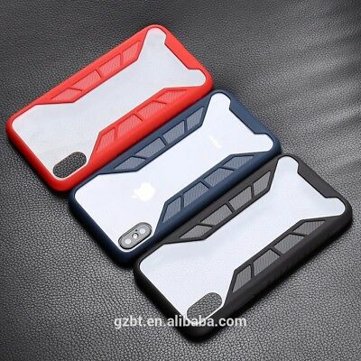 Wholesale Shockproof Transparent Case Hybrid TPU For Iphone X (Lot Of 45)