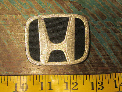 """Honda """"h"""" Racing Patch Accord Civic Fit Cvr S2000 S500 S600 S800 Irl Indy Cars"""