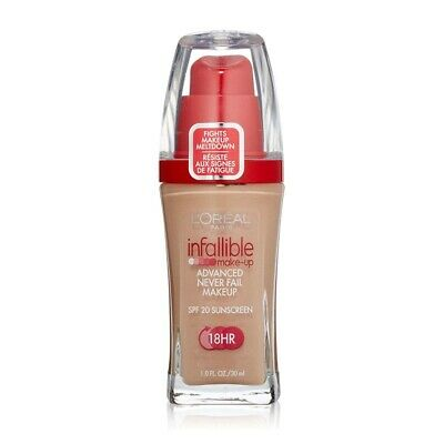 L'Oreal Infallible Makeup 607 Creamy Natural 30ml