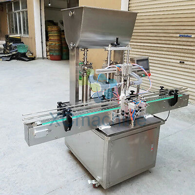5-1000ml Automatic Double Head Paste Filling Machine Honey Filling Machine