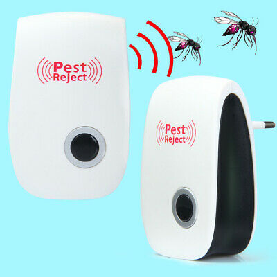 Ultrasonic Electronic Pest Control Pest Repeller For Mice Rat Bug Spider Roach