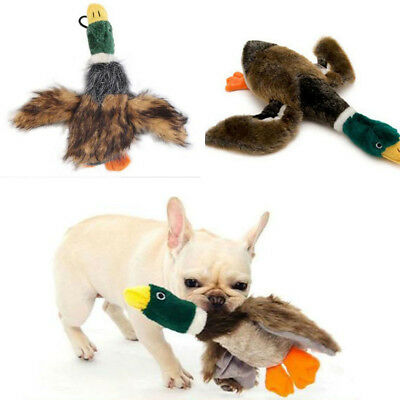 Funny For Dog Toy Play Pet Puppy Chew Squeaker Squeaky Plush Chicken Sound Toys
