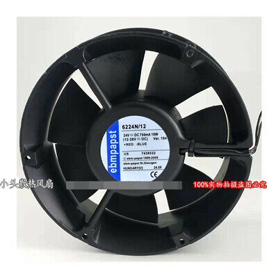 for PAPST TYP6224N/12 17251 24V 18W Cooling Fan