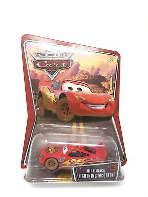 Disney Pixar Cars The World Of Cars Dirt Track Lightning McQueen New