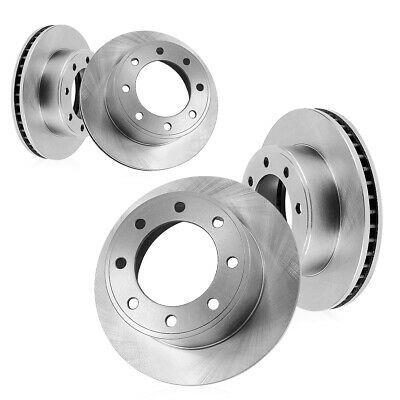 Front 331 mm and Rear 326 mm Brake Rotors Kit FORD F250 F350 EXCURSION 4WD 4X4