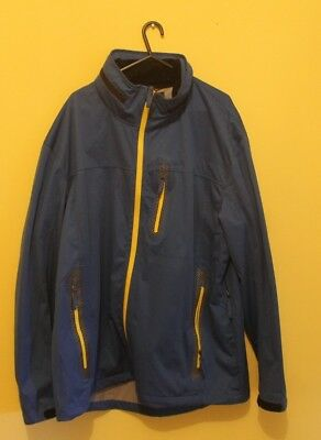 cederberg jacket blue with yellow zips