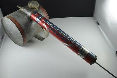 VINTAGE Universal Tin Pump Bug Sprayer Saranac, Michigan