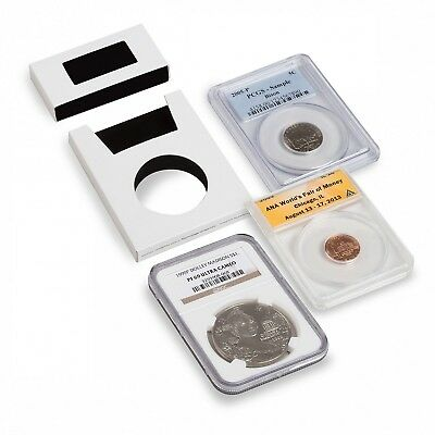 Slab Protectors For Certified NGC PCGS IGC ANACS Graded Coins 15 Intercept Cases