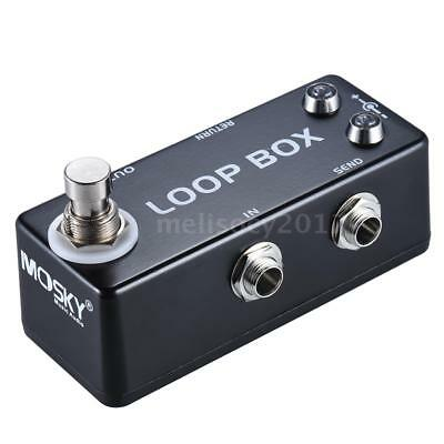 Loop Box Switcher Channel Selection Guitar Effect Pedal True Bypass High Quality