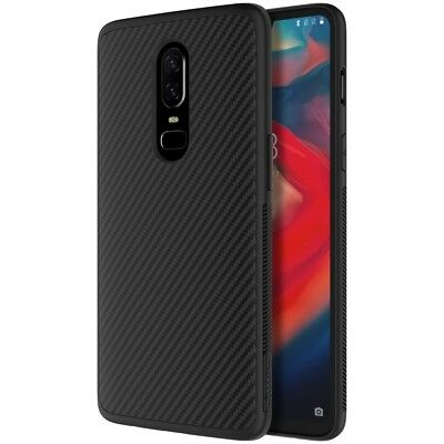 NILLKIN Synthetic Fiber PC TPU Hybrid Cell Phone Case Cover for OnePlus 6