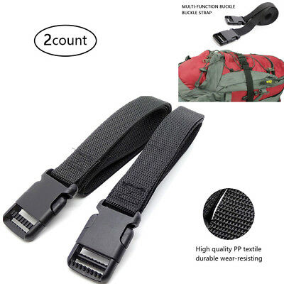 Adjustable Luggage Strap Tie Down Backpack Accessory Quick Release Buckle Lock