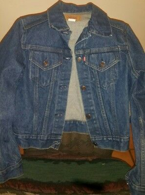 LEVI STRAUSS & Co Classic JEAN JACKET Women's Large