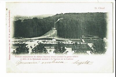 CPA-Carte postale-FRANCE --Saint Cloud -Allée de la Balustrade -1903 -S936