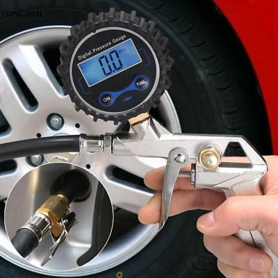 Air Tire Inflator with High Accurate Digital Pressure Gauge For Car Portable Siz