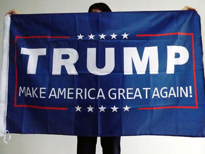 4pcs Donald Trump 3 x 5 Foot Flag Make America Great Again for President US KY