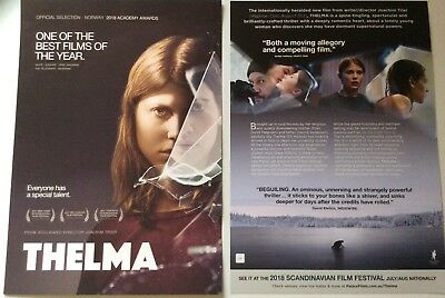 Promotional Movie Flyer Thelma*NOT A DVD*