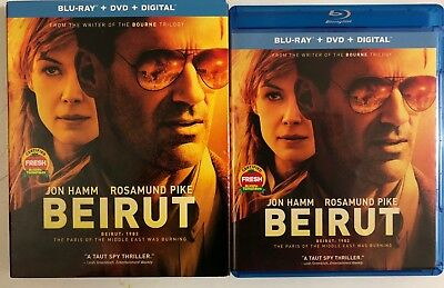 Beirut Blu Ray Dvd 2 Disc Set + Slipcover Sleeve Free World Wide Shipping Buy It