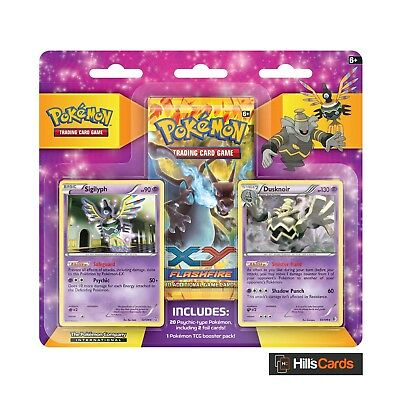 Pokemon Psychic Gym Collector Pack: Triple Blister 3 Booster - Sigilyph Dusknoir