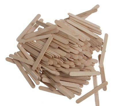 100 Purple Coloured Wooden Lolly Sticks for Ice or Cake Pops /& Kids Craft R9G7