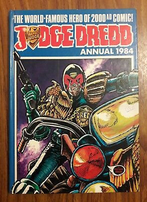 Judge Dredd 1984 Annual Book British Fleetway 2000 A.d.