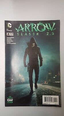 DC Comics: Green Arrow - Season 2.5 #4 (2015) - BN - Bagged and Boarded