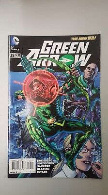 DC Comics - Green Arrow #35 The New 52 - 2014 - BN - Bagged and Boarded