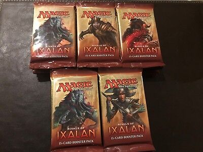 25 Rivals of Ixalan Boosters | Magic The Gathering | English | New