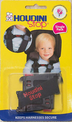 New Houdini Stop & Hurphy Durphy Car Seat Safety Harness Chest Kids Baby Strap