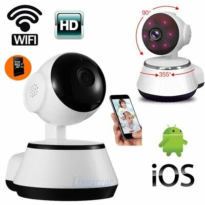 New 720P Pan Tilt Network Home CCTV IP Camera IR Night Vision WiFi Webcam YP