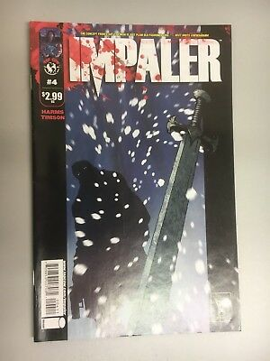Top Cow Image Comics Impaler #4 Cover A 1st Printing 2009 BN Bagged and Boarded