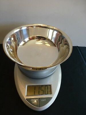 """Vintage Gorham YC779 Paul Revere Silver Plate Small Footed Bowl 11.5 oz 6.5"""""""