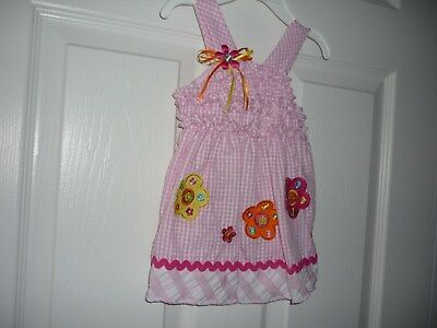 53bf4771da3a NWT BABY GIRL Dress Size 6-9 Months Pink   White Youngland Baby ...