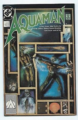 Aquaman #1 (1989, DC) First issue High Grade