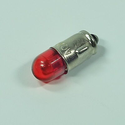 LED GLÜHLAMPE -  rot -  red 12V 2W  f. INSTRUMENTE SOCKEL BA7s  fit for VDO