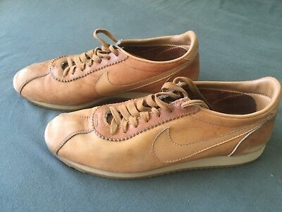 meet 17591 8c02d NIKE CORTEZ BROWN 80s Le Village leather Made in USA sneakers (11s i  believe)