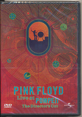 DVD - PINK FLOYD - Live at Pompeii - The Director's Cut - NEU-OVP