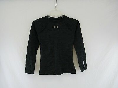 Youth Under Armour Cold Gear Fitted Athletic T-Shirt Long Sleeve Size YMD #I-37