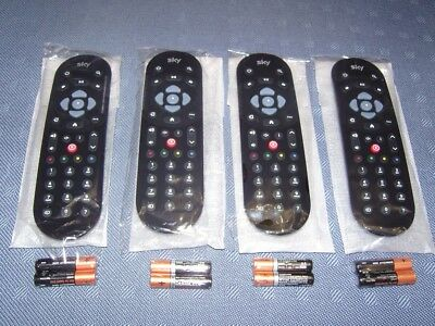 4 X Brand New Sealed Sky Q Infra-Red Remote Control Handsets